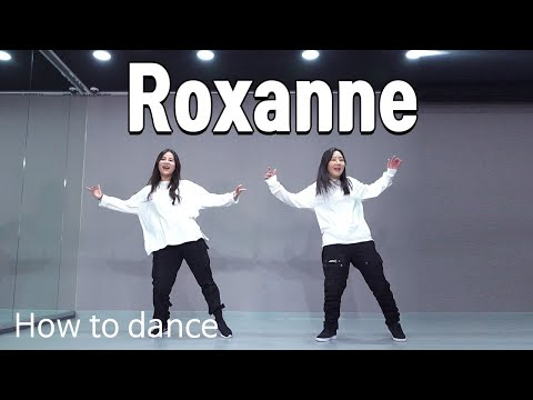 Arizona Zervas – Roxanne | How to dance. Beginner | 몸치탈출 춤배우기