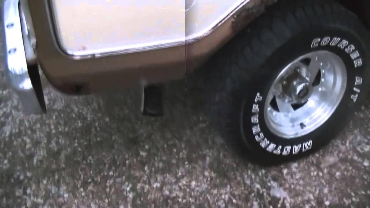 Truck Exhaust Systems >> 1979 Ford Bronco Exhaust System - YouTube