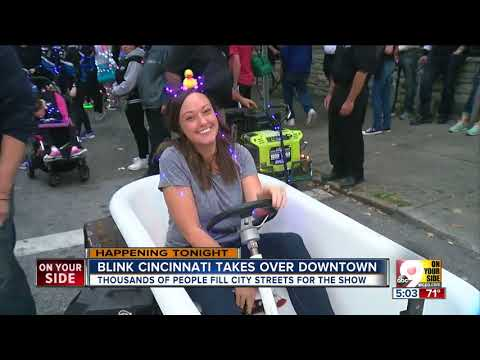 BLINK Cincinnati takes over Downtown