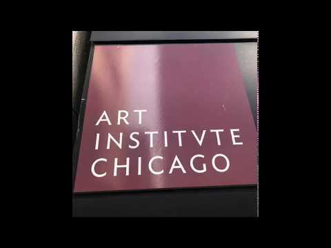 The Art Institute of Chicago,  Sept 2017