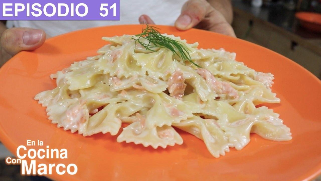 Pasta con salm n receta italiana youtube for Pasta tipica italiana