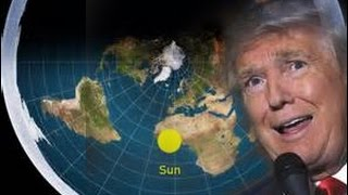 DONALD TRUMP IS A FLAT EARTHER by Lydia Thyatira. FLAT EARTH ADDICT 75