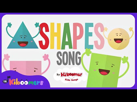 Shapes Songs for Children | Shape Song | Shapes Songs for Kindergarten | The Kiboomers