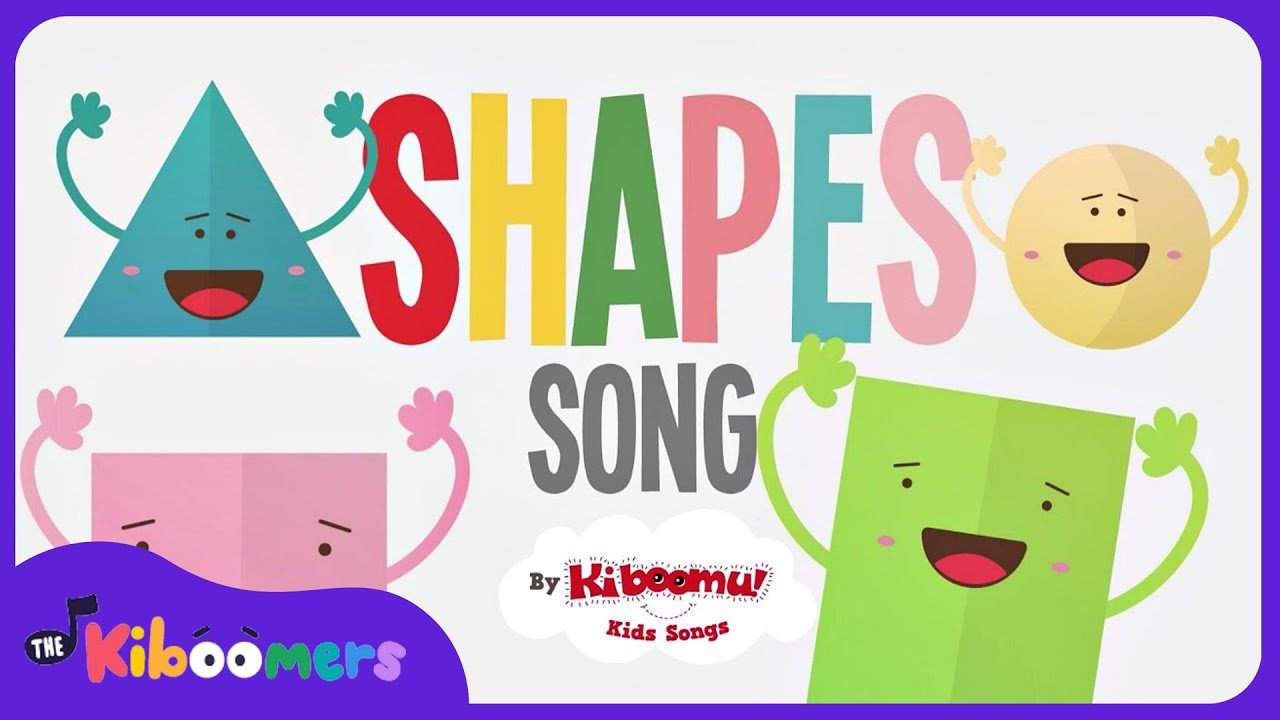 Shapes Songs for Children | Shape Song | Shapes Songs for ...