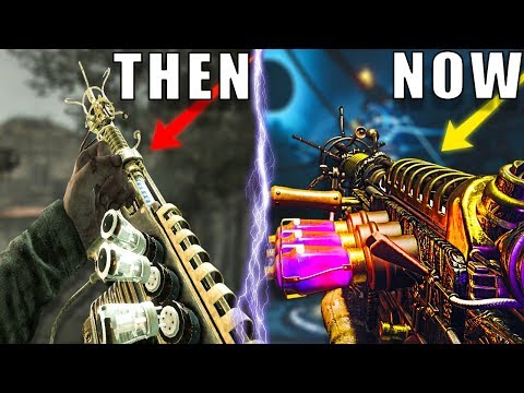 THE EVOLUTION OF THE WUNDERWAFFE IN CALL OF DUTY ZOMBIES ~ Black Ops 3 Zombies Chronicles