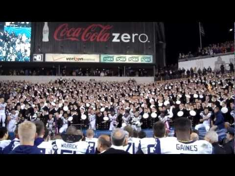 The Navy Blue and Gold - 2012 Army Navy Game