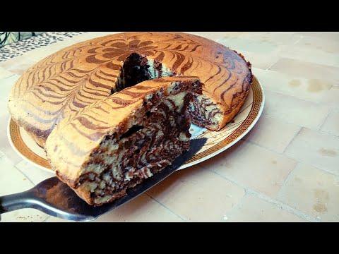 recette-du-gâteau-marbré-facile-et-moelleux-كيك-يومي-اقتصادي-طالع-هشيش-و-ناجح