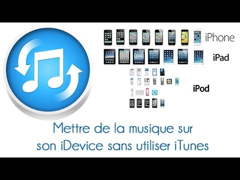 comment mettre des musiques sur un iphone ipod ipad v doovi. Black Bedroom Furniture Sets. Home Design Ideas