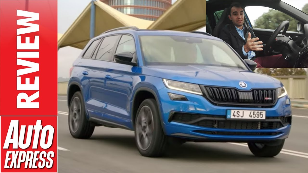new skoda kodiaq vrs 2019 review can an suv really be a vrs youtube rh youtube com