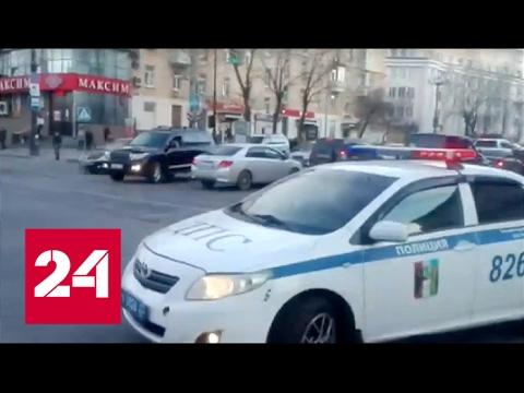 Перестрелка в Хабаровске.Нападение на ФСБ.
