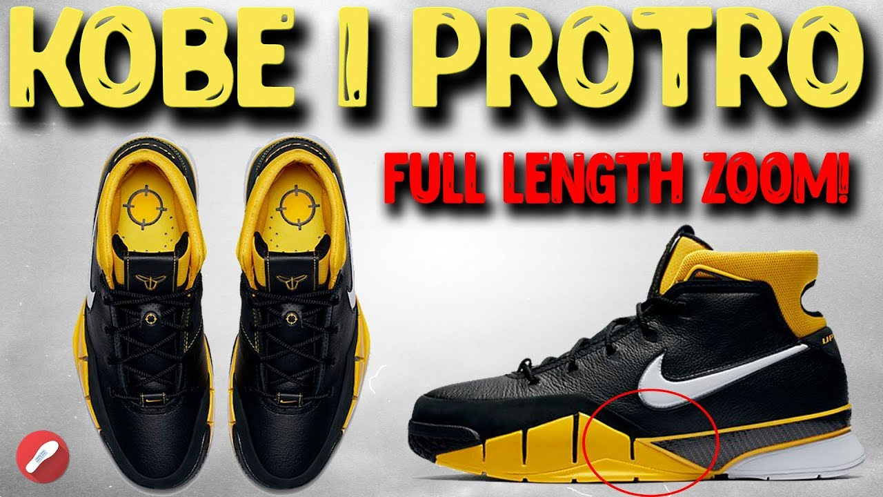 ebcbd132a20 Nike Unveils Updated Kobe 1 Retro