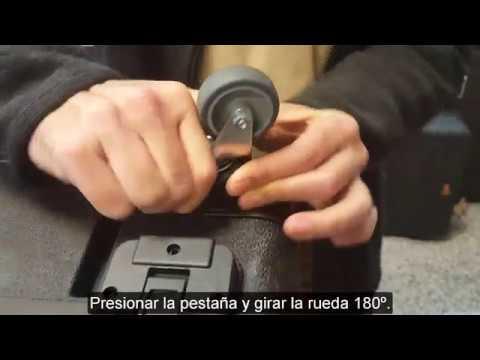 Gt Line Como Cambiar Las Ruedas De La Maleta Pivot Youtube