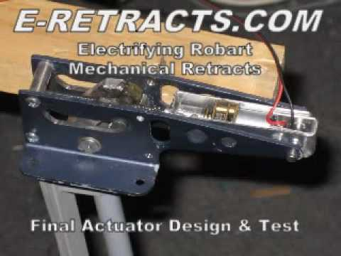 DIY Electric R/C Airplane Retracts - Modifying Air Retracts w/ Dual  controlled Actuators (Final)