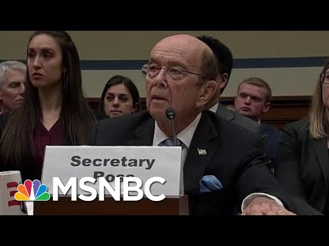 Democrats Call On Wilbur Ross To Resign | All In | MSNBC