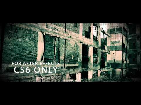 Horror Trip Free AE CS6 Template