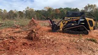 First day mulching with ASV RT120 and black edition Denis cimaf 180D