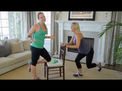 Single Leg Squats While Pregnant - ModernMom Fitness