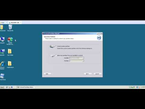 Resize Windows Server 2008 Partition In VMware
