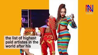 WizKid Joins Highest Paid Artistes Worldwide