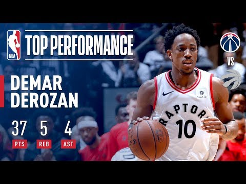 DeMar DeRozan Leads Toronto To Victory in Game 2