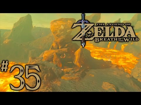 Zelda Breath Of The Wild Playthrough Part 35: Abandoned North Mine, Save Yunobo (Divine Beast Chain)