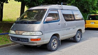 1992 Toyota Lite Ace Diesel 4WD (USA Import) Japan Auction Purchase Review