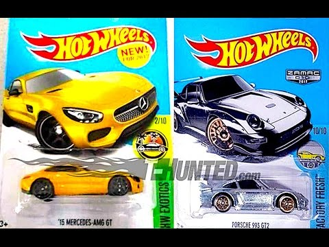 Hot wheels mercedes amg gt and zamac porsche 993 gt2 for Hot wheels mercedes benz