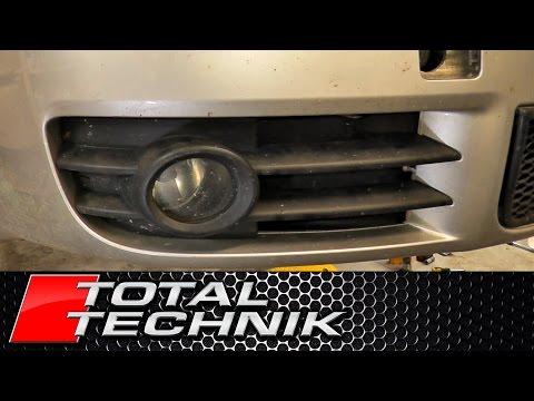 AUDI TT 8J MK2 NEW SPORT FRONT BUMPER FOG LIGHT CHROM GRILLE RIGHT O//S 2011-2014