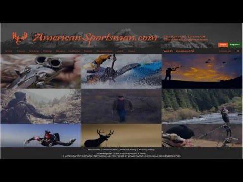 New American Sportsman Portal