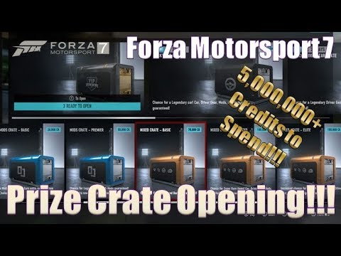 Forza Motorsport 7 Spending $5,000,000+ on Prize Crates