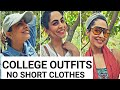 COLLEGE OUTFITS   CASUAL WEAR   NO SHORT CLOTHES   COMFORT FASHION   2019