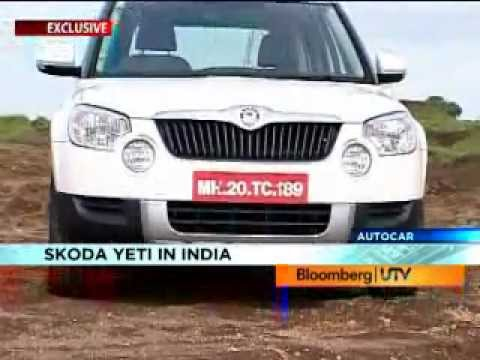 Skoda Yeti Video review by Autocar India