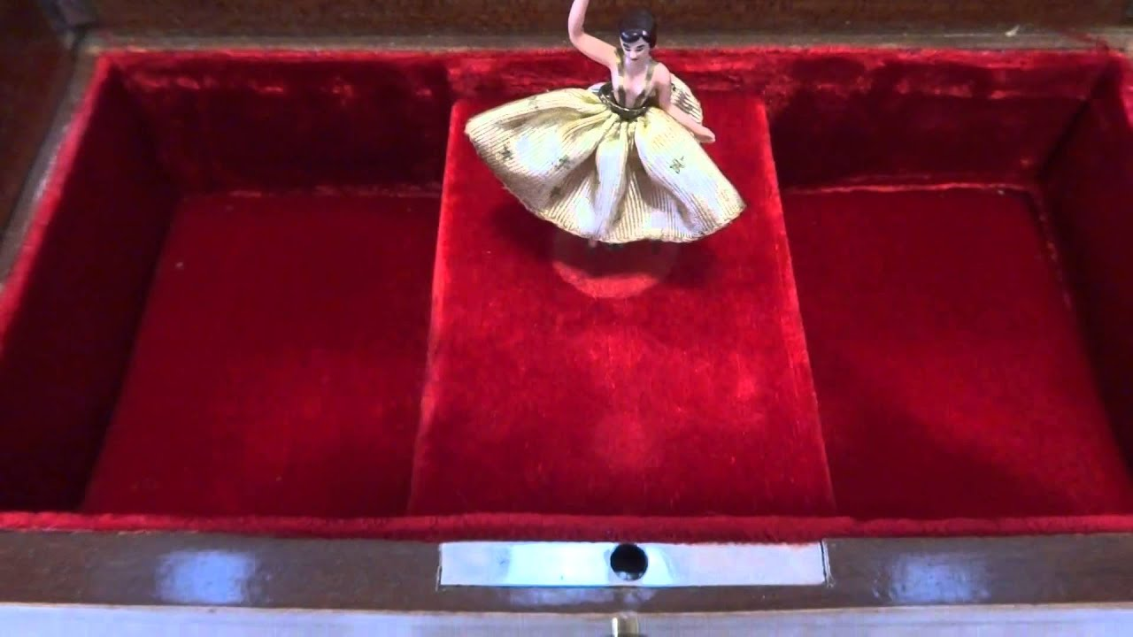 Reuge dancing ballerina jewelry box Carousel Waltz YouTube