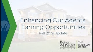 Enhancing Our Agents' Earning Opportunities