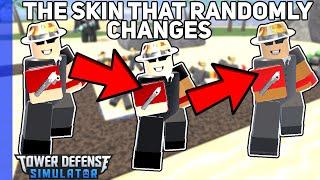 The Magic Changing Skin? - Kasodus Cowboy - Tower Defense Simulator