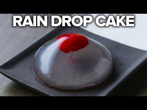 Rain Drop Cake 2 Ways