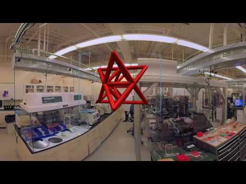 360 video tour of 3D printing labs at LLNL