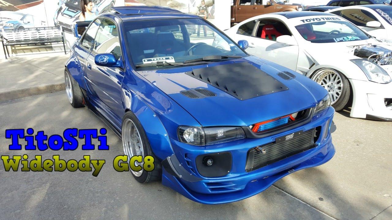 SICKEST GC8 Build EVER!!! - All Team Bash Gillman Subaru ...