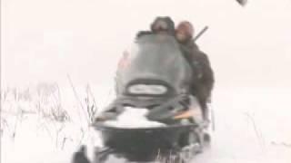 Охотничьи просторы: Волк, охота на снегоходах.ВИДЕО.(Новый цикл программ про охоту и рыбалку от Леонида Костюкова. Отстрел волка в Донских степях в рамках..., 2011-02-15T09:11:36.000Z)
