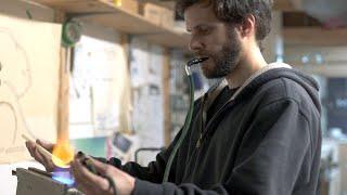 Meet the Montreal artist mastering neon bending