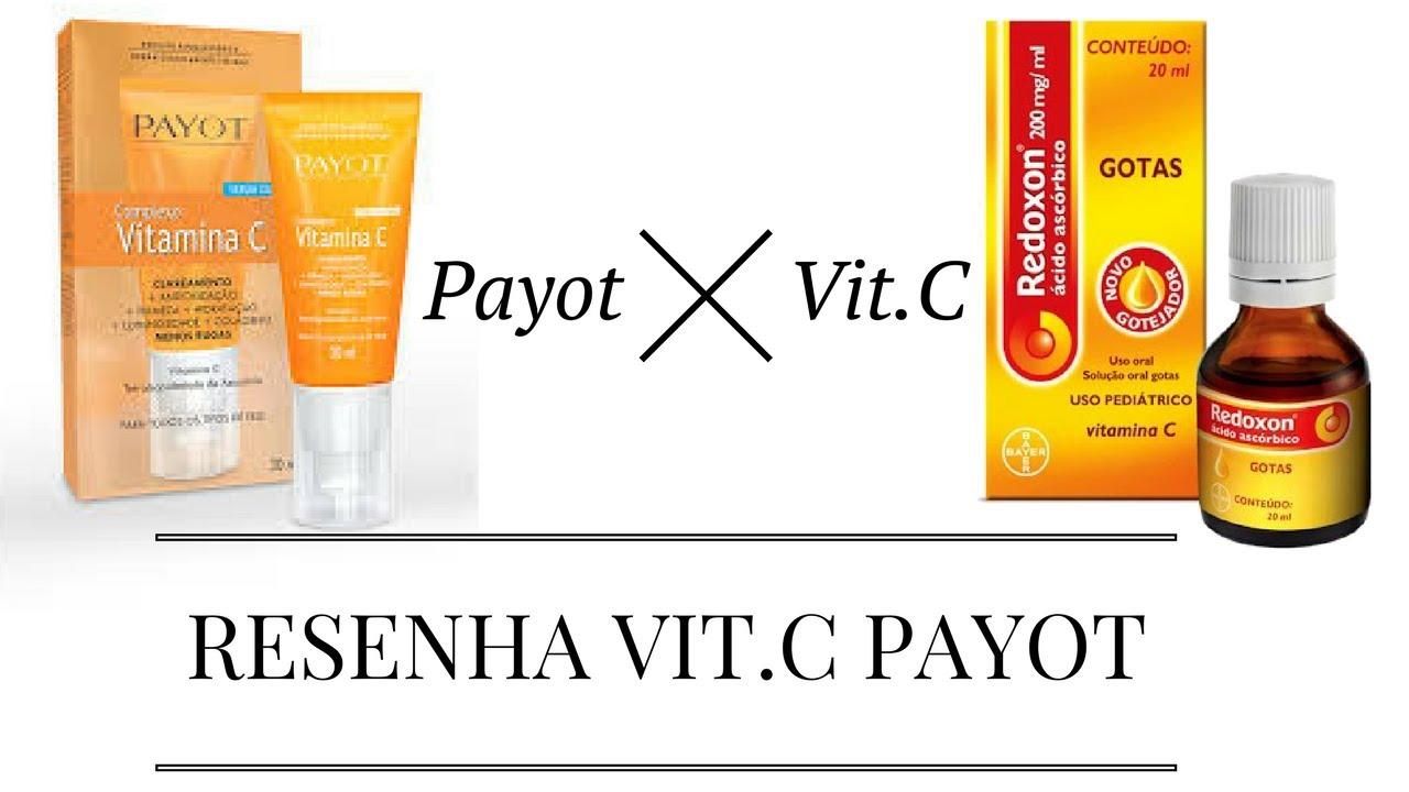 9f17ac8df Vitamina C Payot X vitamina C caseira - YouTube