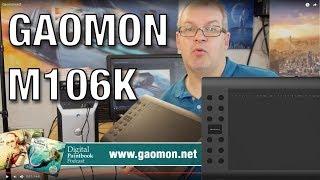 Grafik Tablet Gaomon M106K im Test / Review