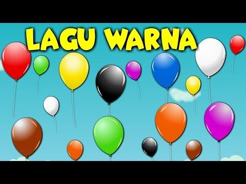 Lagu Kanak Kanak Melayu Malaysia  - LAGU WARNA  Learning Colours in Malay