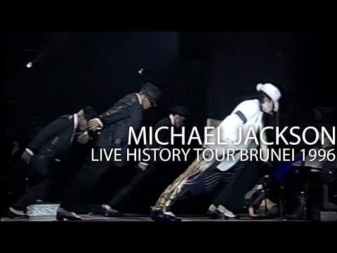 "Michael Jackson - ""Smooth Criminal"" Medley live HIStory Tour in Brunei 1996 - Enhanced - HD"