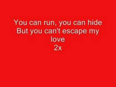 enrique iglesaisCant escape my love lyrics