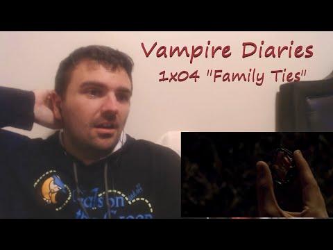 "Vampire Diaries 1x04 ""Family Ties"" Reaction | Skettiwin"