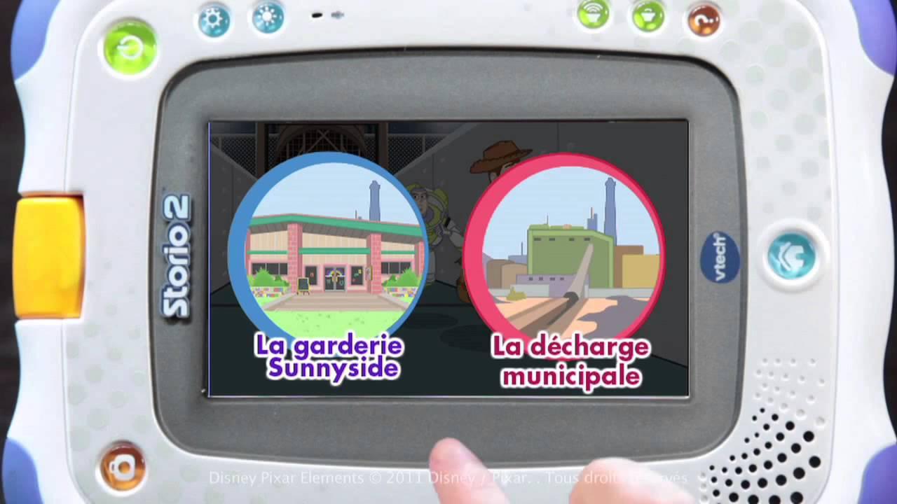 demo console de jeux storio 2 de vtech youtube. Black Bedroom Furniture Sets. Home Design Ideas