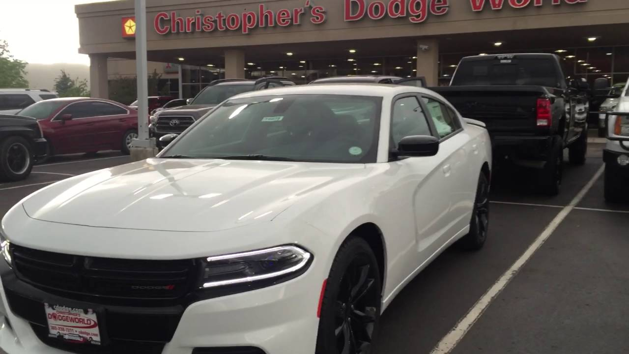 2016 Charger Se Blacktop Package