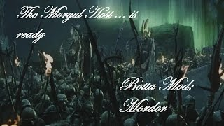 ROTWK BOTTA Mod: The Morgul Host is ready