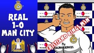 vuclip Real Madrid vs Man City 1-0 (Ronaldo Phones MSN Champions League 15-16 Cartoon Semi-Final)